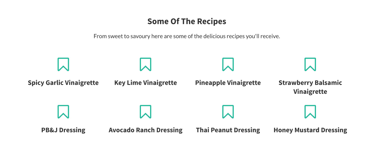homemade salad dressing recipes