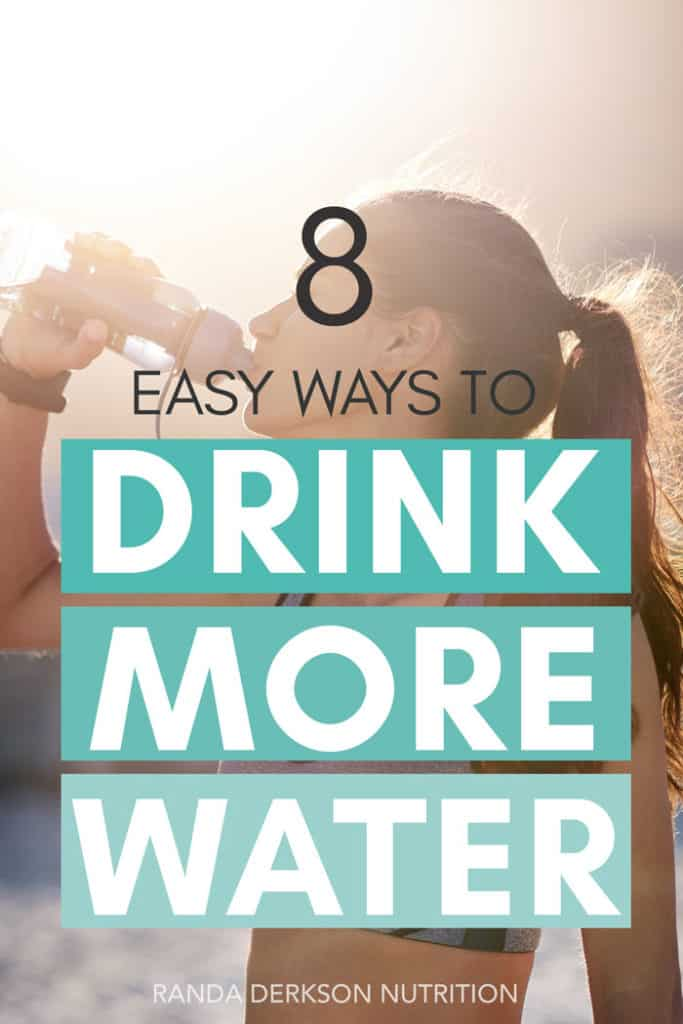 8 tips to drink more water. Try these tricks to stay hydrated and improve your health! #drinkmorewater #hydration #80dayobsession #liift4 #water