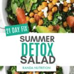 21 Day Fix Summer Detox Salad