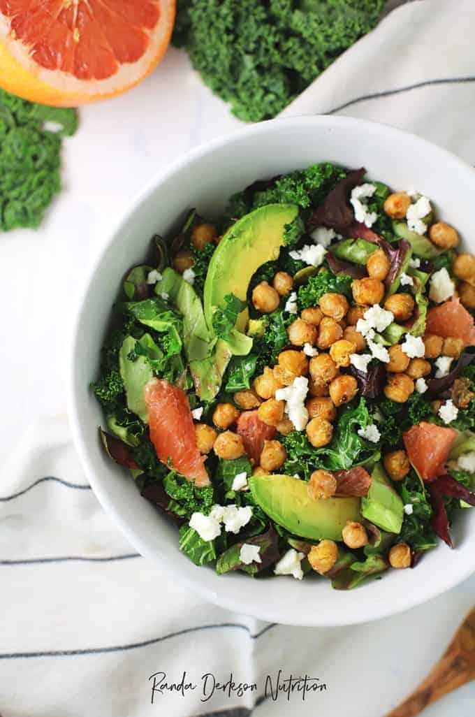 plant based detox salad recipe