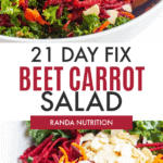 beet kale salad 21 day fix