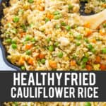 healthy fried rice recipe