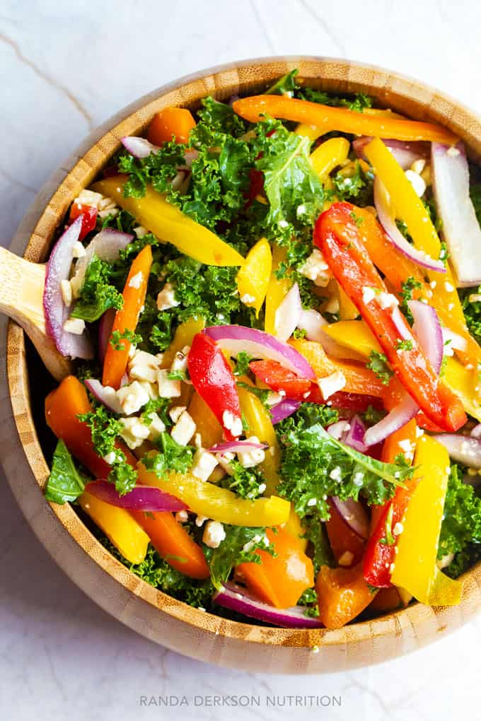 healthy kale salad recipe