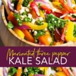 marinated kale salad