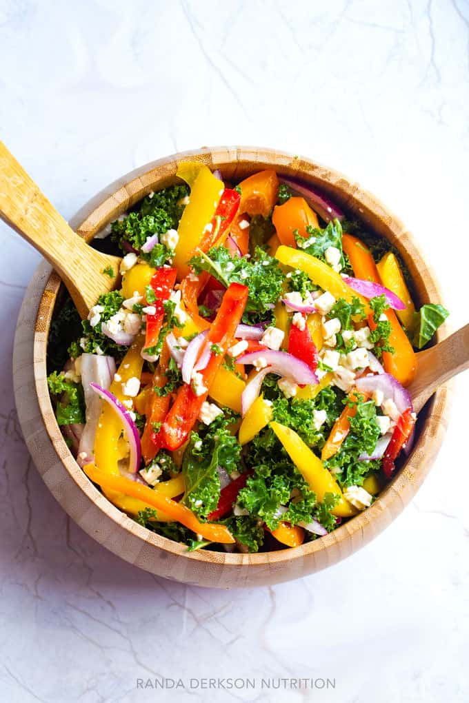 marinated 3 pepper salad