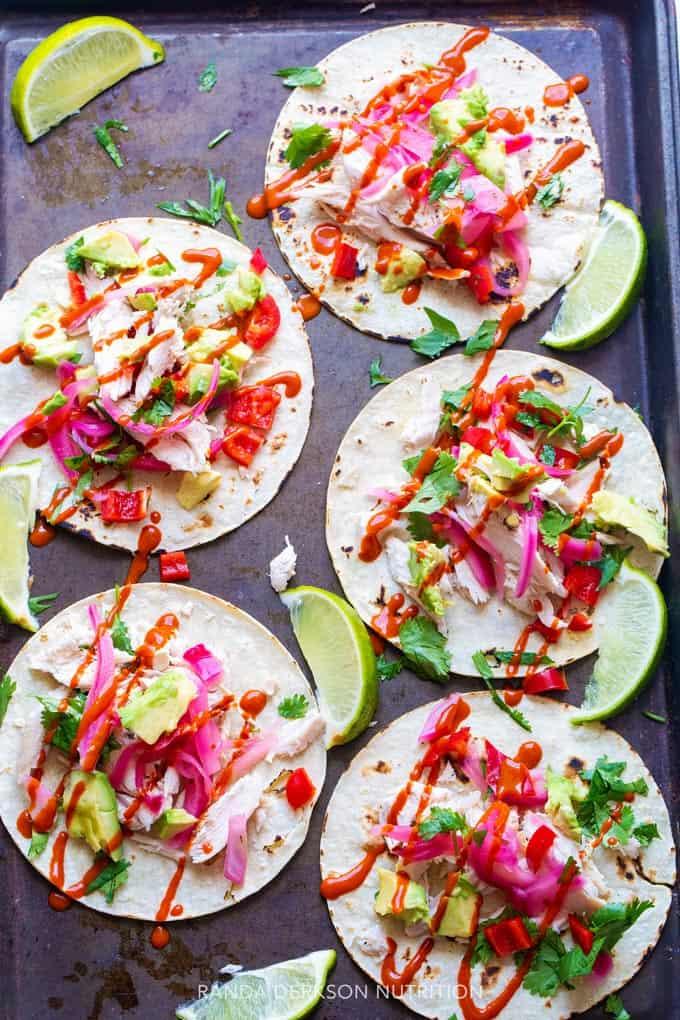 sheet pan tacos
