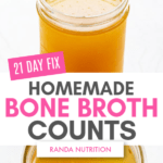 21 day fix bone broth