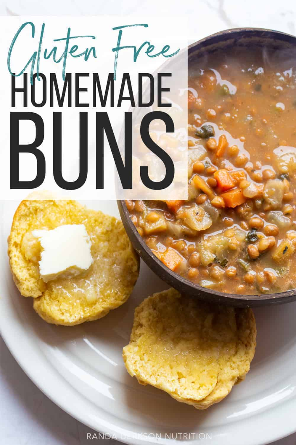 homemade gluten free buns recipe