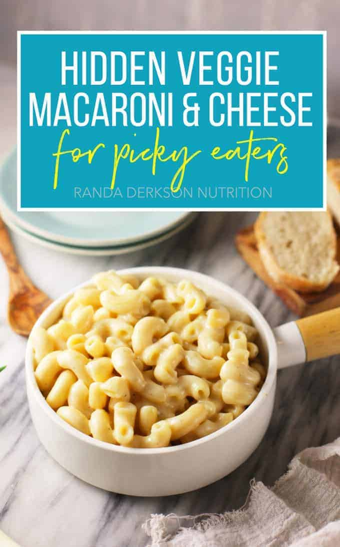 hidden veggie macaroni and cheese for picky eaters
