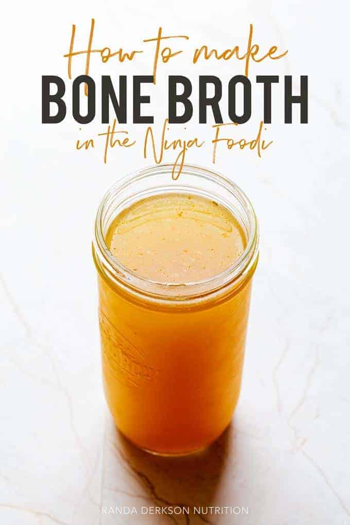 how to make bone broth in the ninja foodi