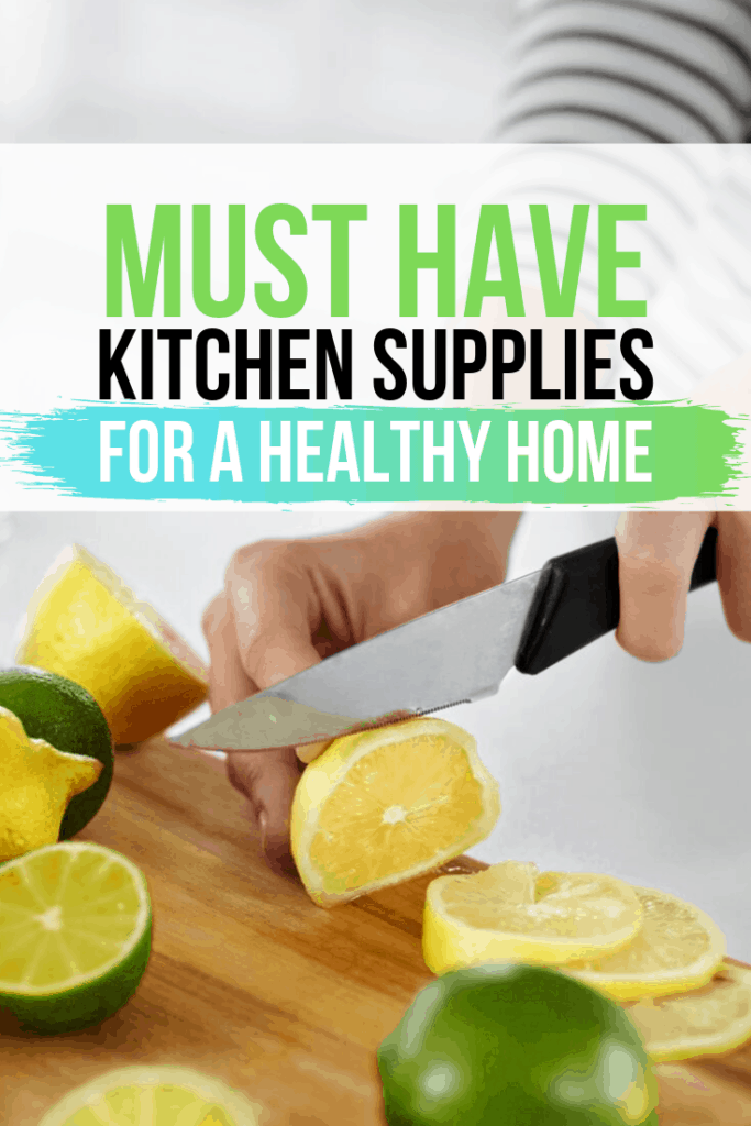 healthy kitchen supplies