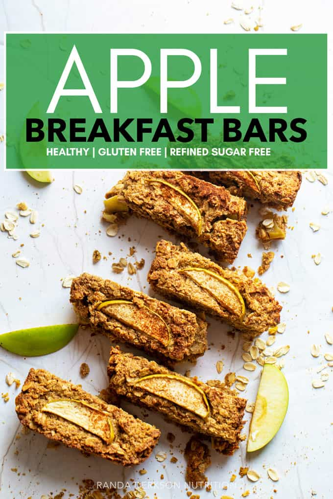 apple breakfast bars