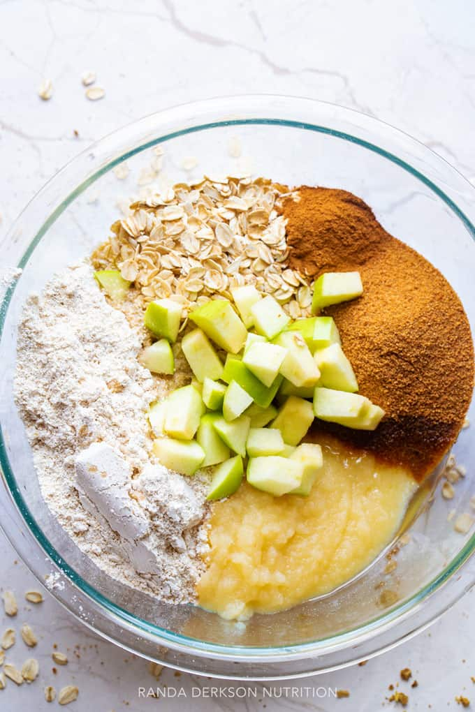 apple breakfast bars ingredients