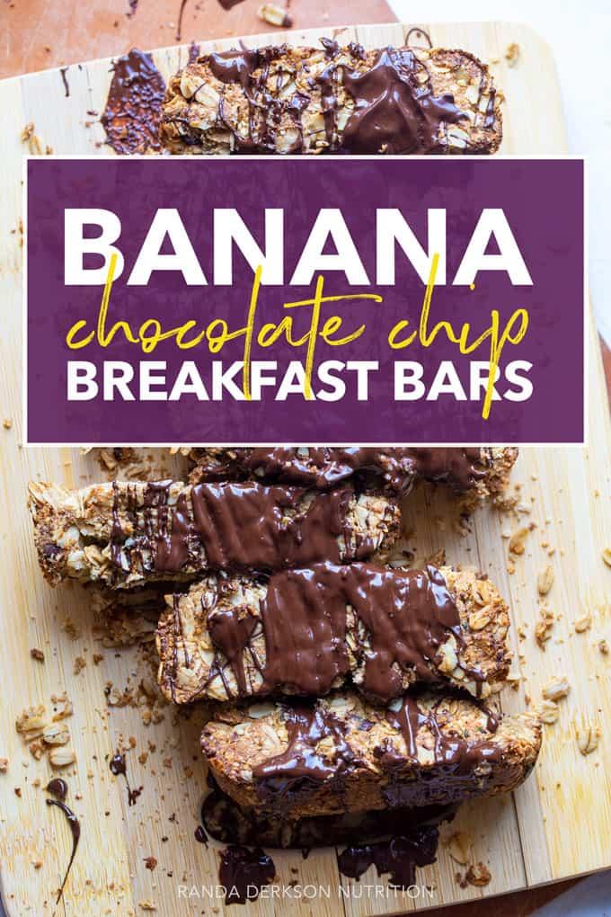 banana chocolate chip bars
