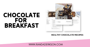 chocolate for breakfast