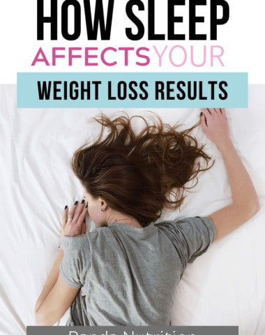 how sleep affects weight loss