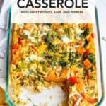 healthy egg breakfast casserole recipe