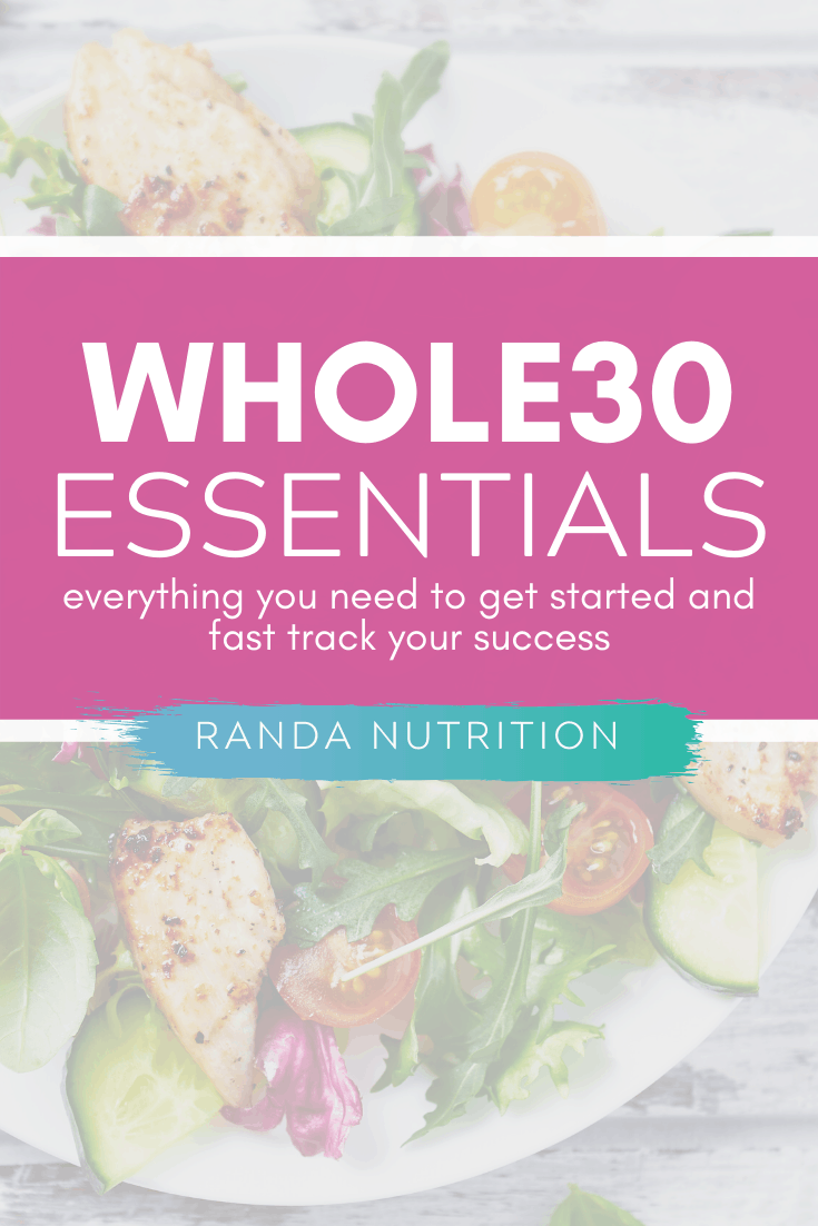 whole30 essentials