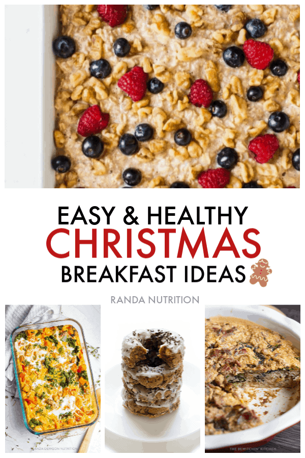 healthy christmas breakfast ideas