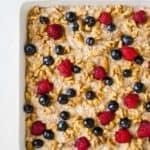 Gluten free oatmeal cake