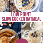 slow cooker peanut butter oatmeal