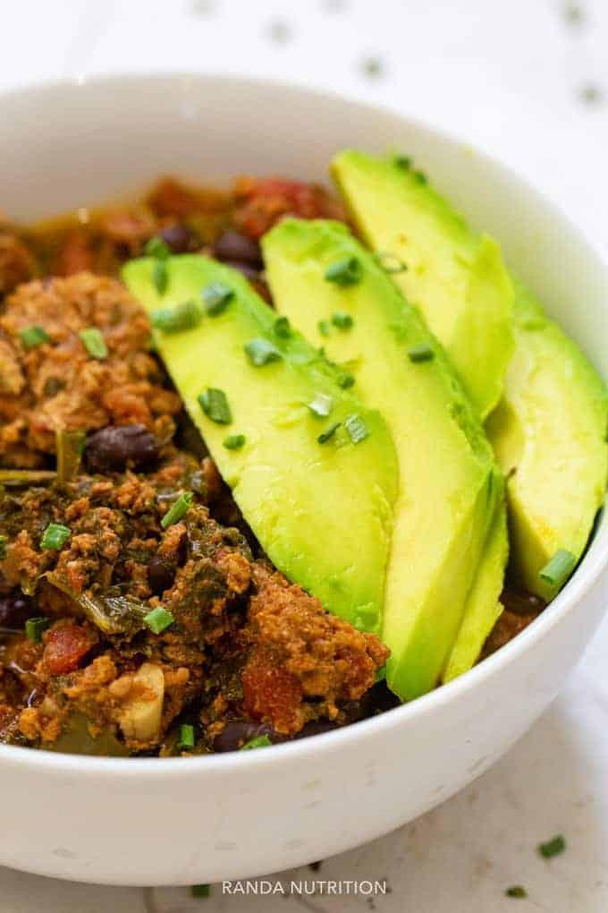 Healthy Turkey Chili In The Ninja Foodi Stovetop And Pressure Cooker Options Randa Nutrition