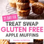 21 Day Fix gluten free muffins