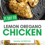 21 Day Fix Lemon Oregano Chicken
