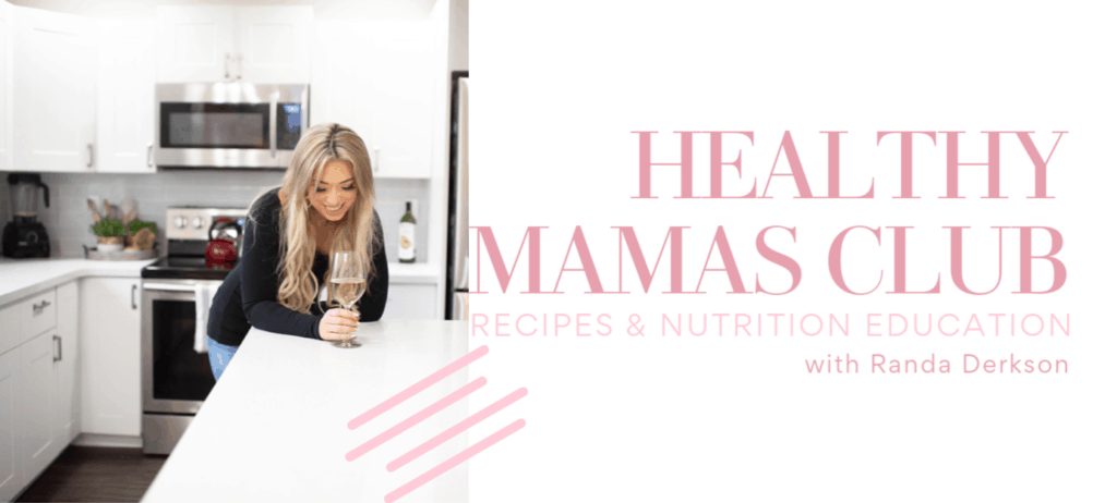 healthy Facebook group. A community for moms.
