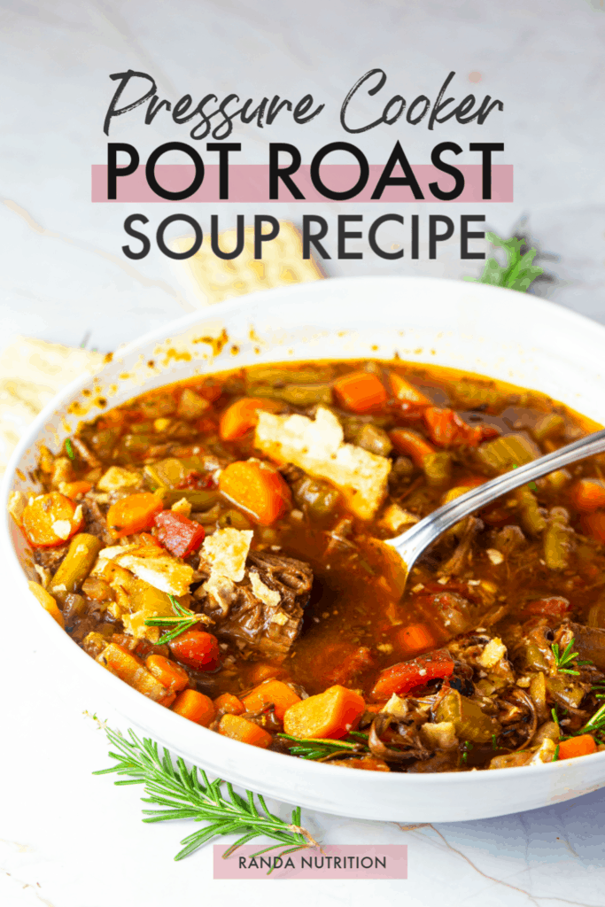 Instant Pot Pot Roast Soup