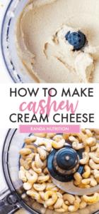 how to make cashew cream cheese