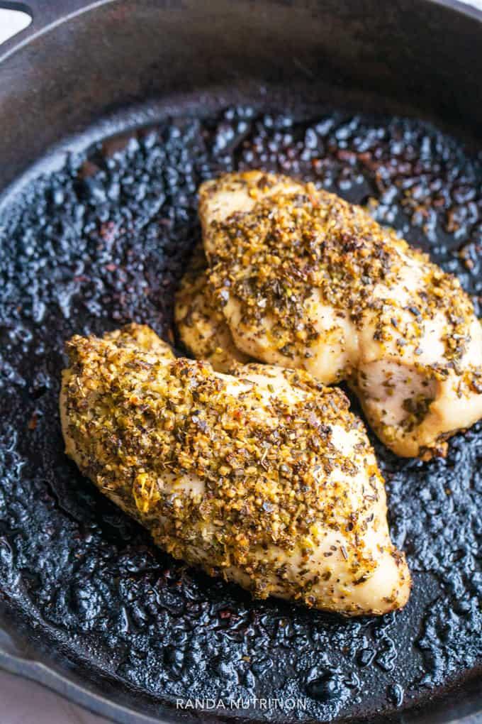 easy lemon chicken breast marinade