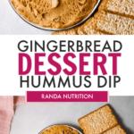 chickpea dessert dip