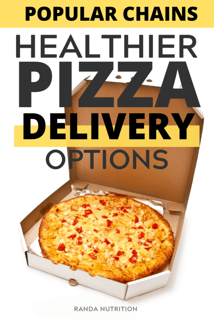 healthy pizza delivery