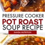 pressure cooker beef soup