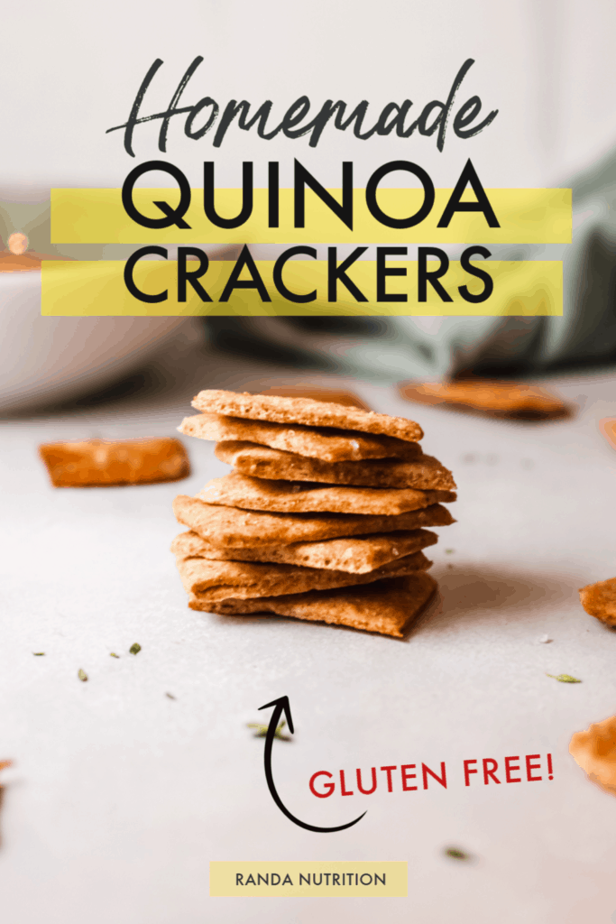 quinoa crackers recipe