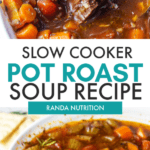 slow cooker pot roast soup recipe