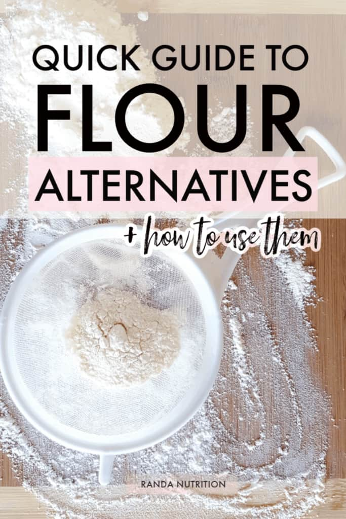 alternative flours for baking and breading