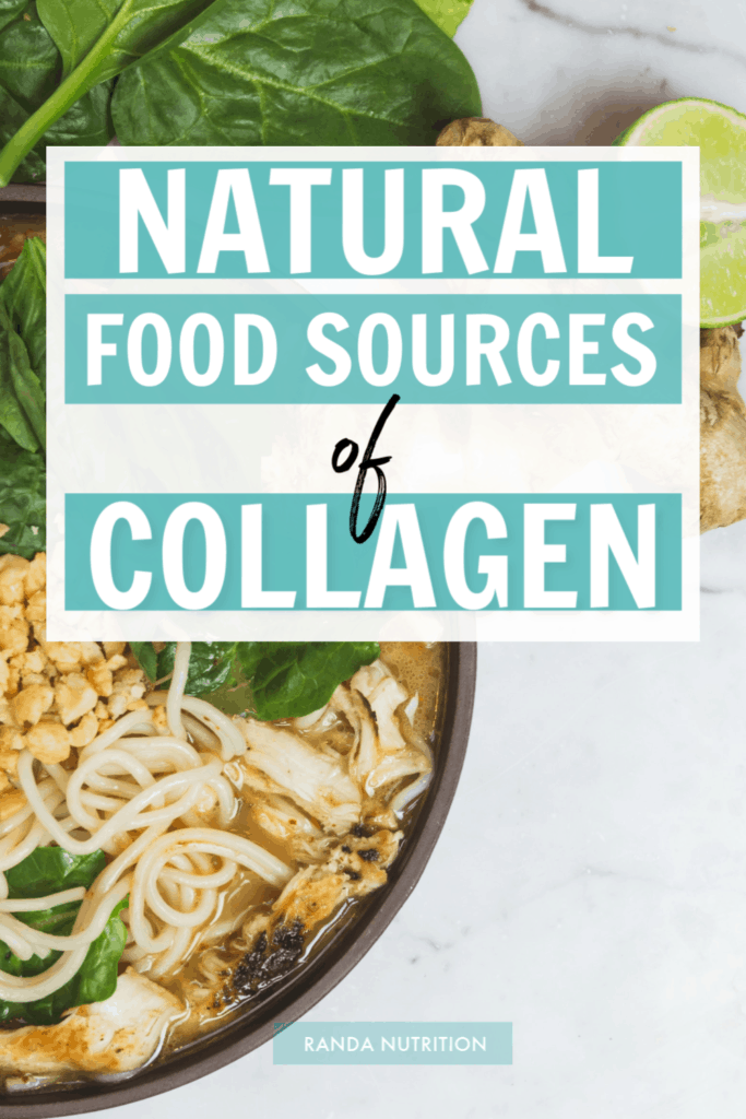 natural food sources of collagen