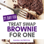21 Day Fix Brownie