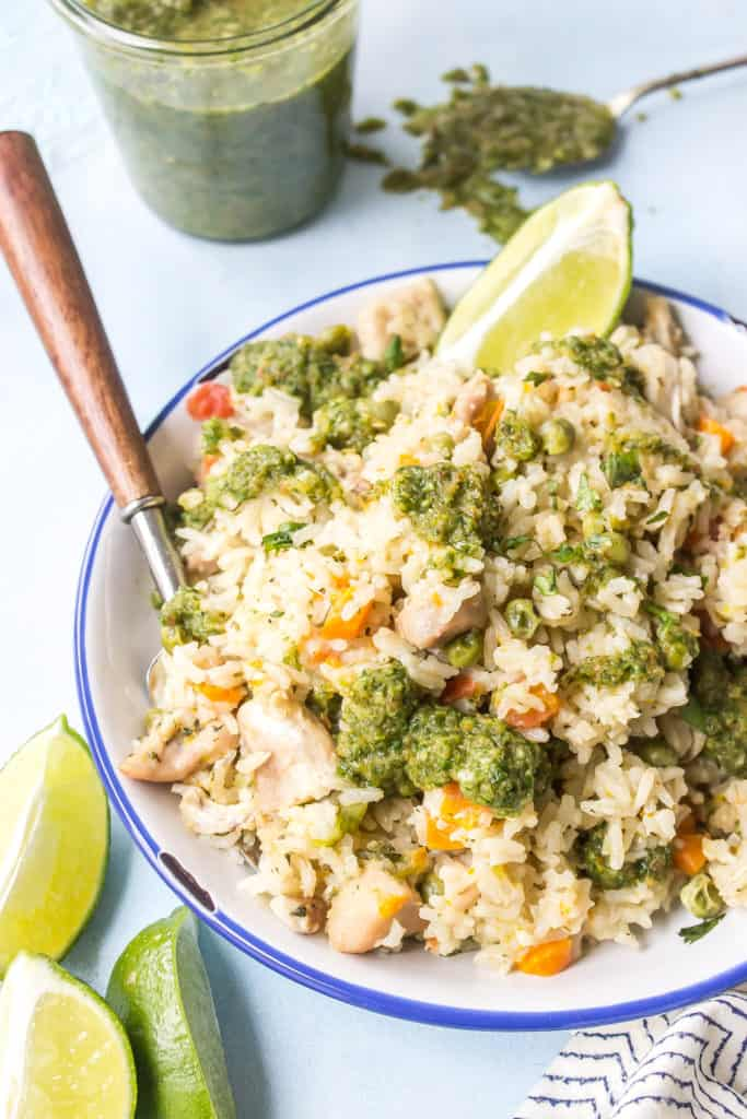 Instant Pot Latin Chicken and Rice