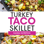 the best turkey taco skillet
