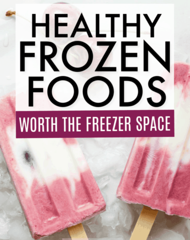 healthy freezer foods