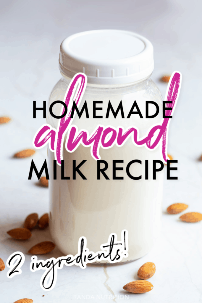 how to make almond milk