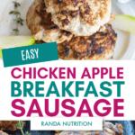 easy apple chicken breakfast sausage