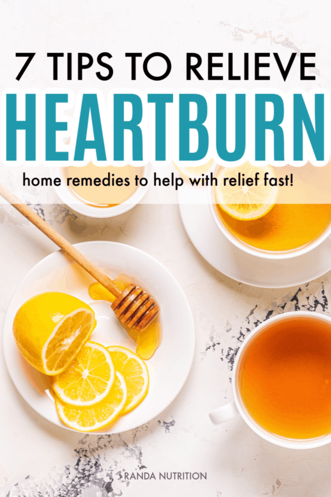 tips to relieve heartburn