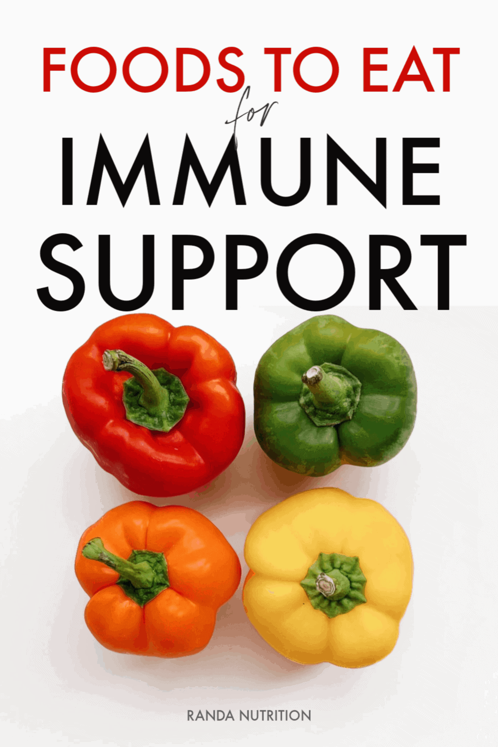 foods you should eat for immune suppot