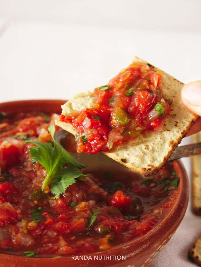 what to serve with homemade salsa