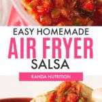 Easy Airfryer Salsa
