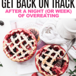 10 ways to get back on track